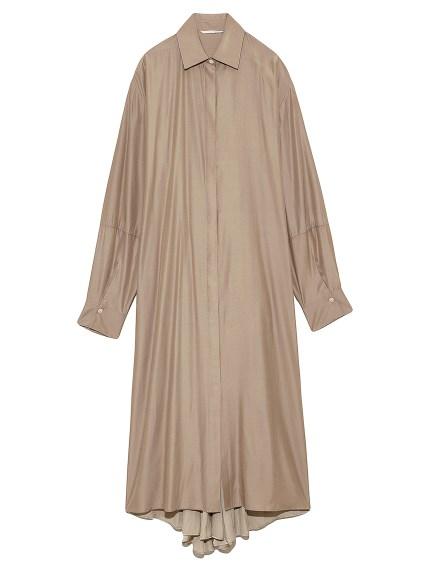 オープンバックシャツドレス(BEG-0)