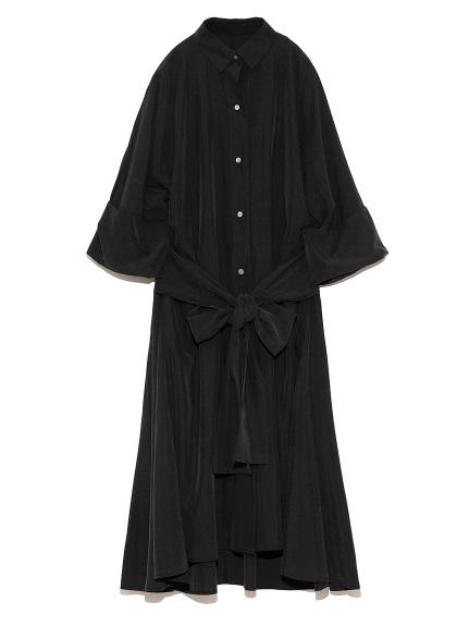 オーバーシャツドレス