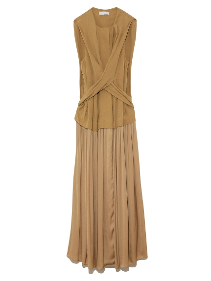 ギャザードッキングドレス(BEG-0)