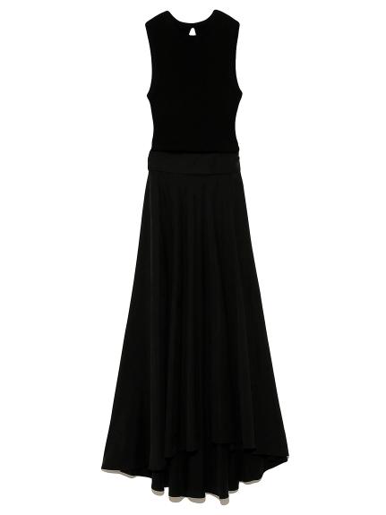 ニットドッキングドレス