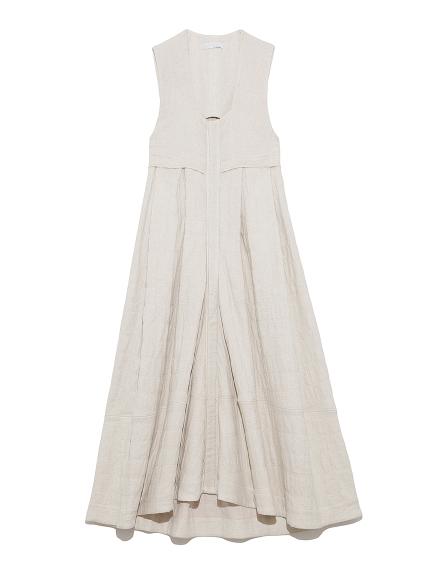 キルティングコクーンドレス