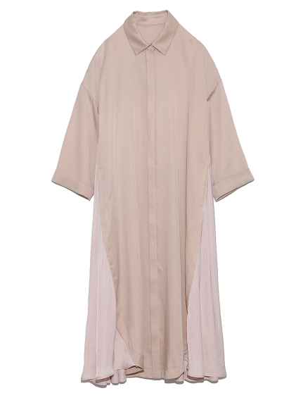 ロングシャツドレス(PNK-0)