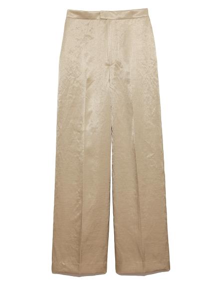 ストレート ドレスパンツ(BEG-0)