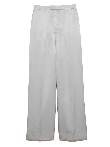 ストレート ドレスパンツ(BLU-0)