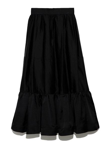 オーガンザ ドレススカート(BLK-0)