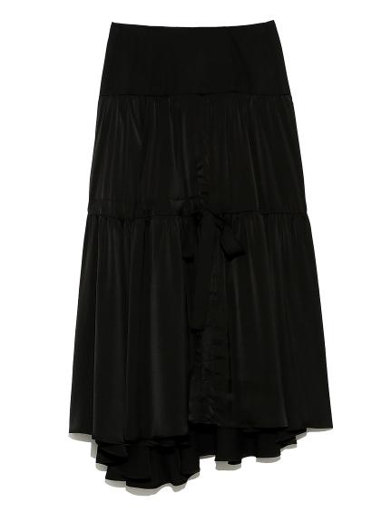 ストリングス ドレススカート(BLK-0)