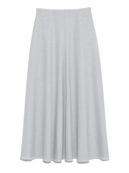 フレアロングスカート(GRY-0)