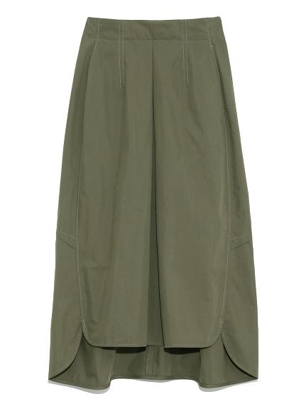 コクーンミリタリースカート