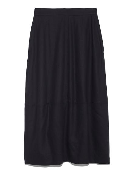 バックフレアコクーンスカート