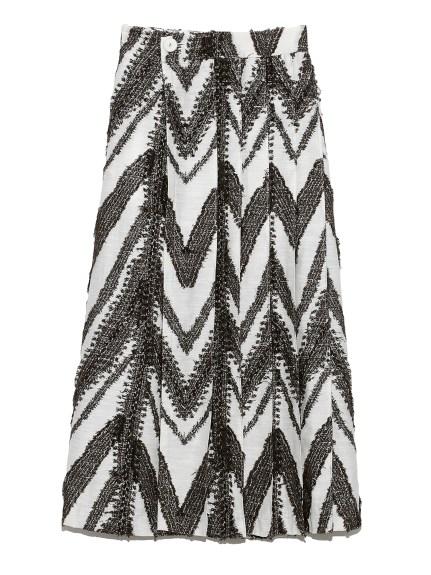 オリジナルジャガードラップスカート(WHT-0)
