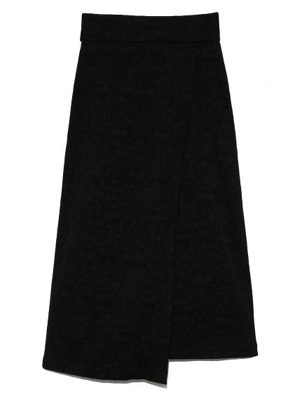 ジャガードスカート(BLK-0)