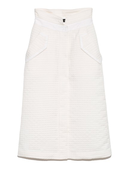 フロントスリットスカート(WHT-0)