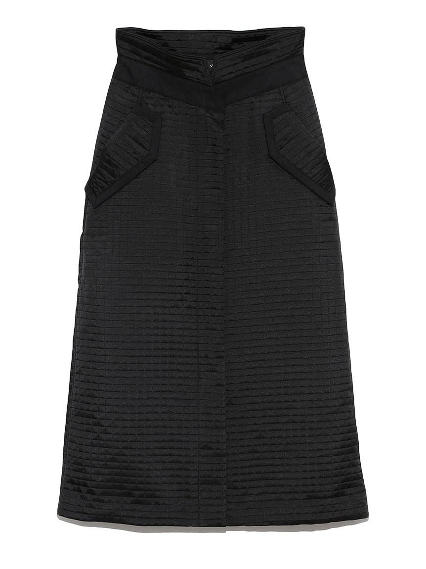 フロントスリットスカート(BLK-0)