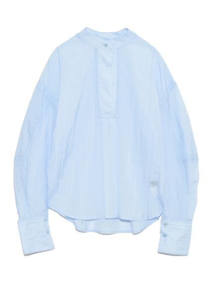 シアーミリタリーシャツ(SAX-F)