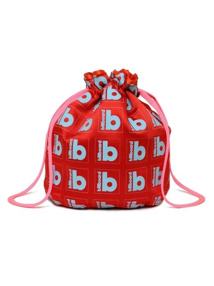ビルボードコラボ巾着(RED-F)
