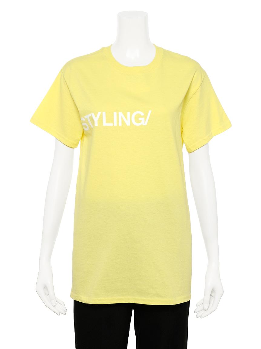 フロッキープリント Tシャツ   16WCT201078