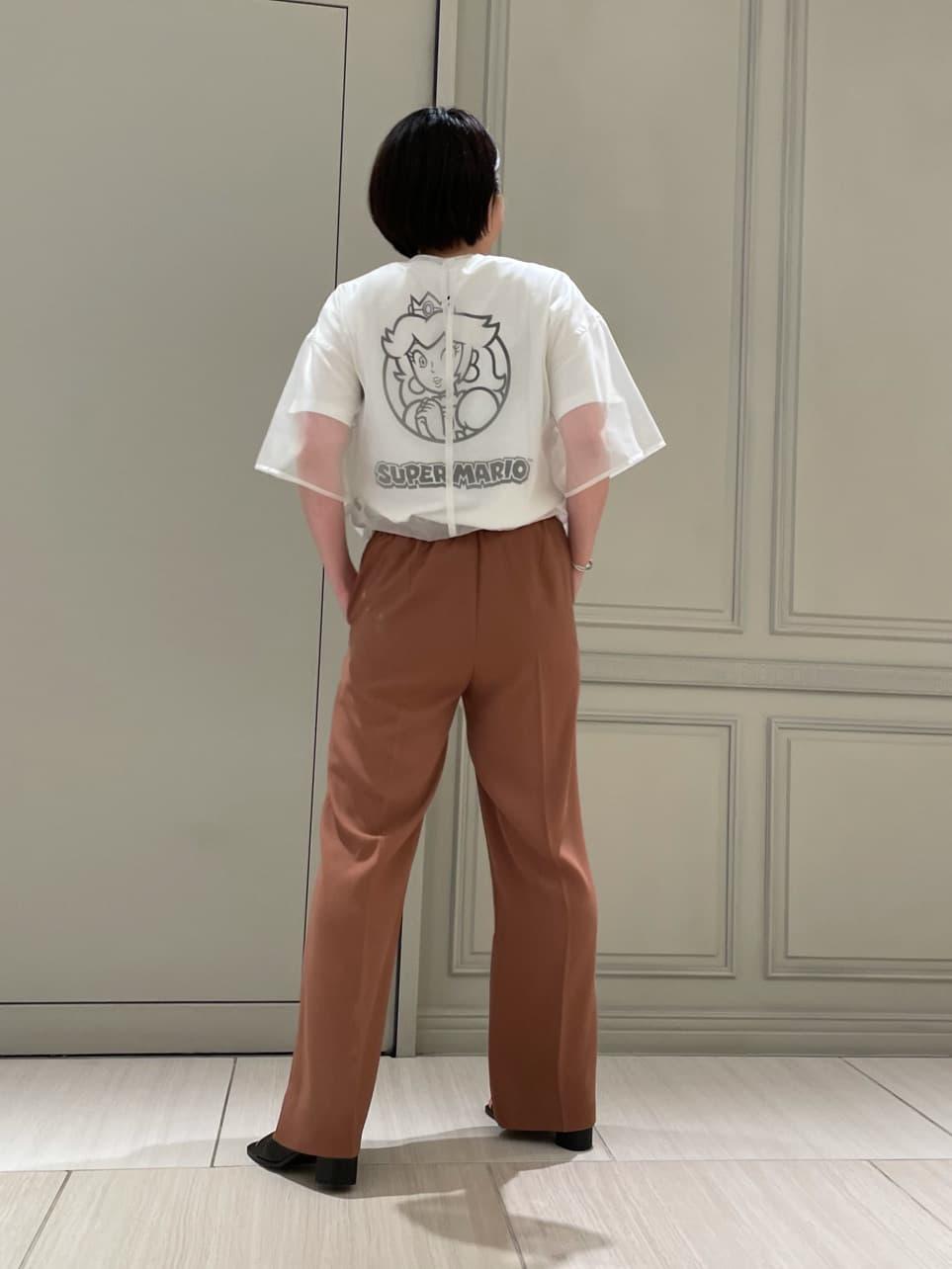 【スーパーマリオ 限定商品】ピーチ プリントTシャツ | 16WCT214075