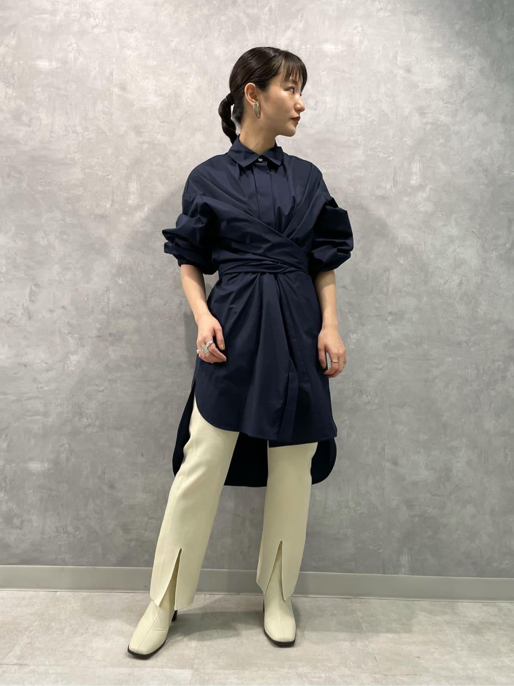 クロスウェストロングシャツ   16WFB214039