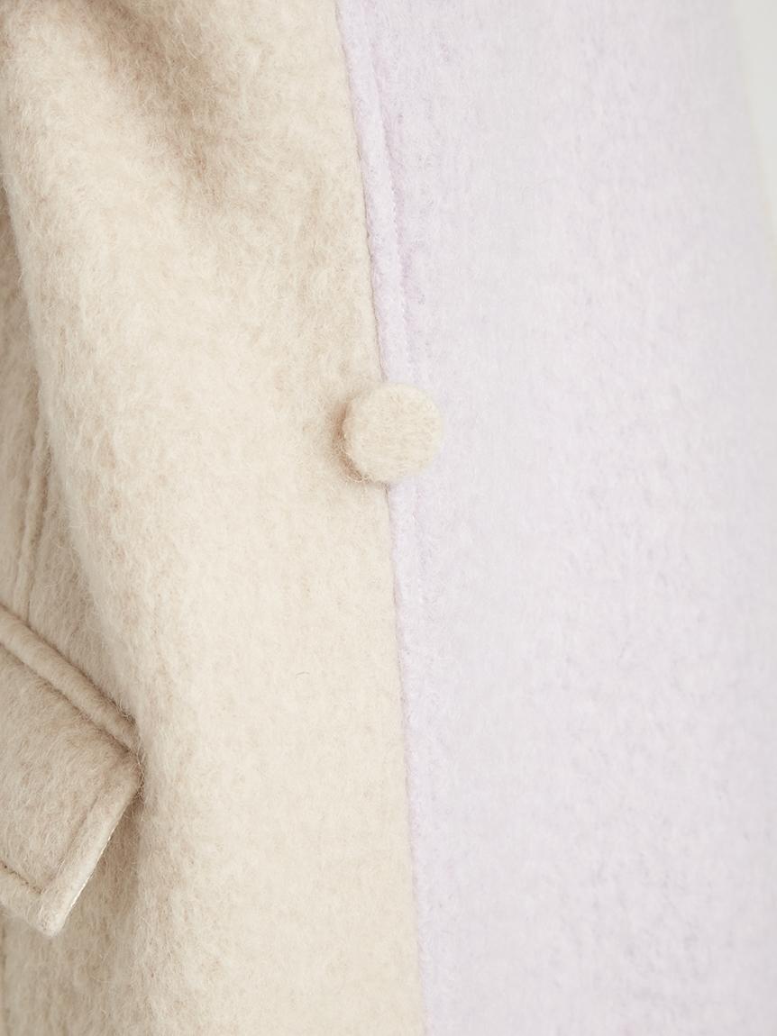 シャギーステンカラーコート | 16WFC215027