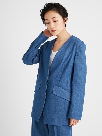 ノーカラースーツジャケット | 16WFJ211019