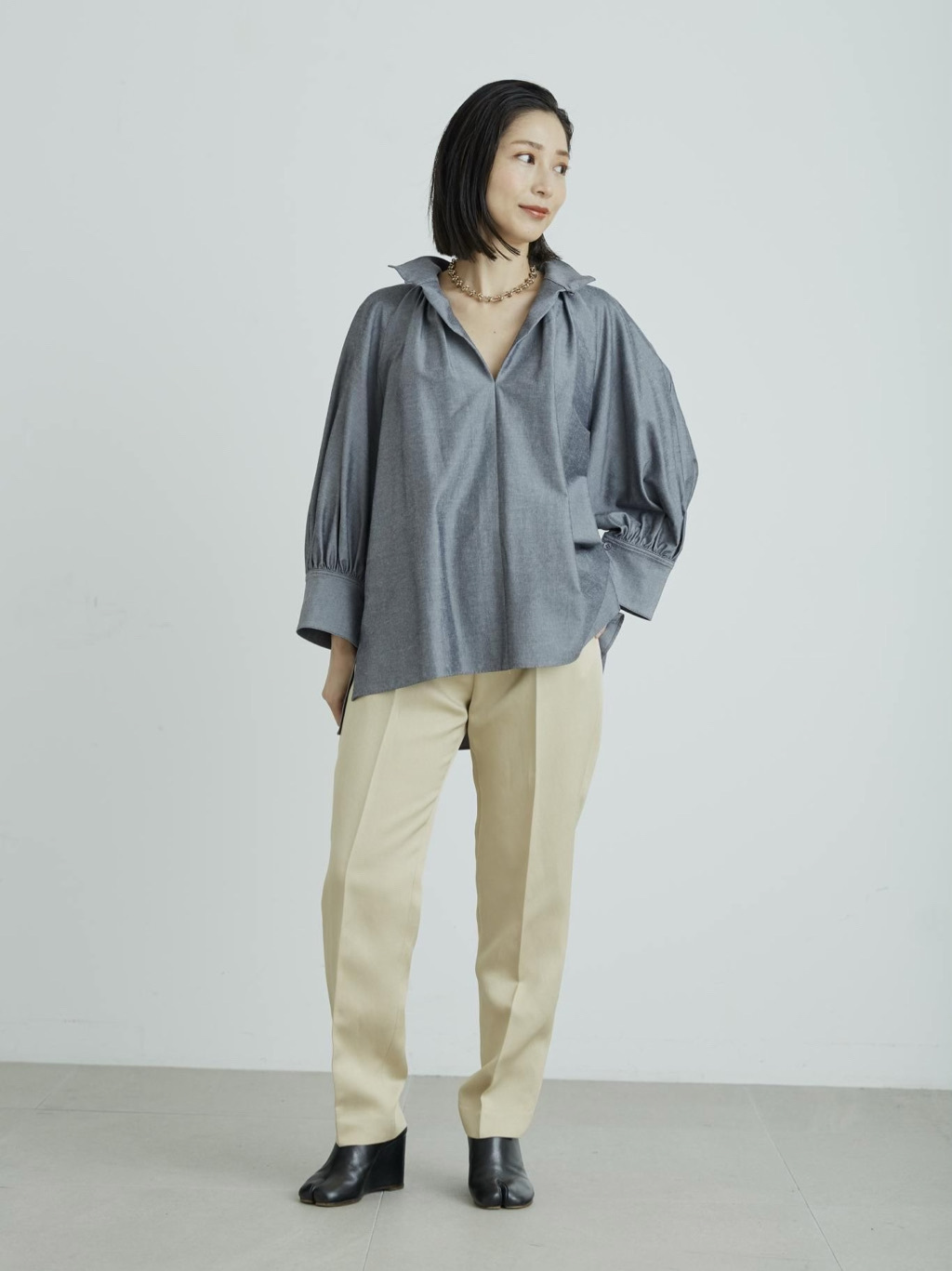 テーパードドレスパンツ | 16WFP212011