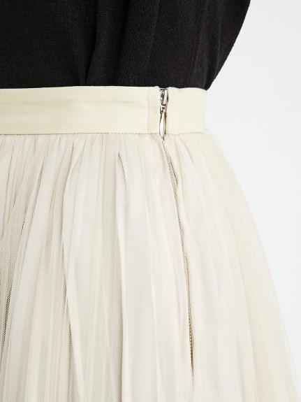チュールプリーツスカート | 16WFS212006