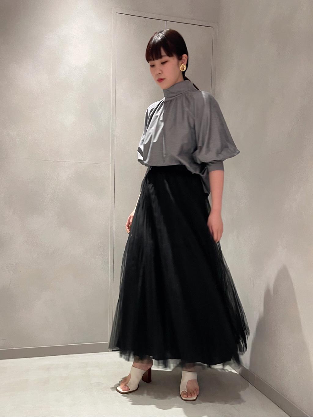 チュールプリーツスカート   16WFS212006