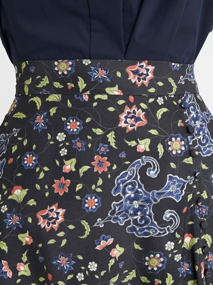 ヴィンテージフラワーラップスカート | 16WFS212008