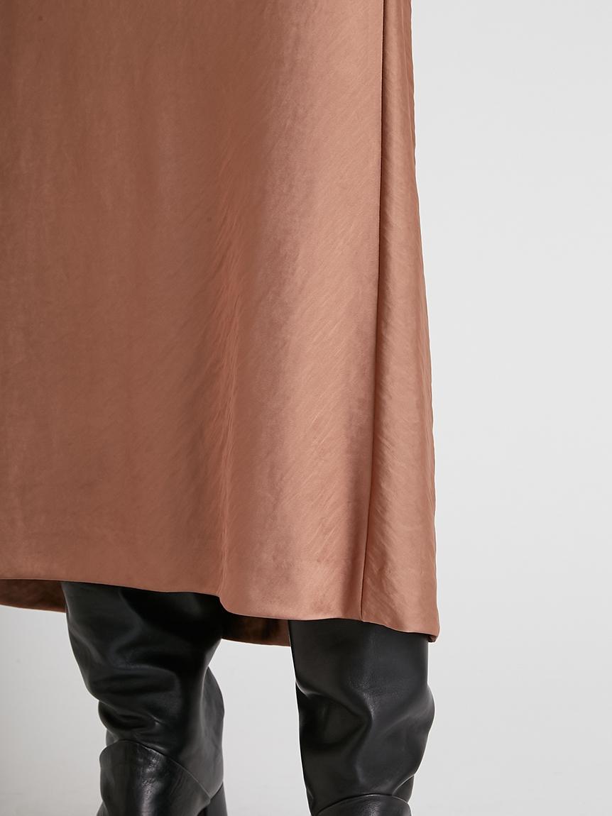 バイアスカットサテンスカート | 16WFS214070