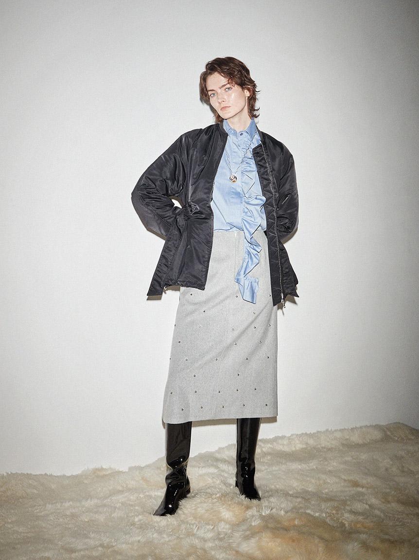 スタッズミディスカート | 16WFS215030