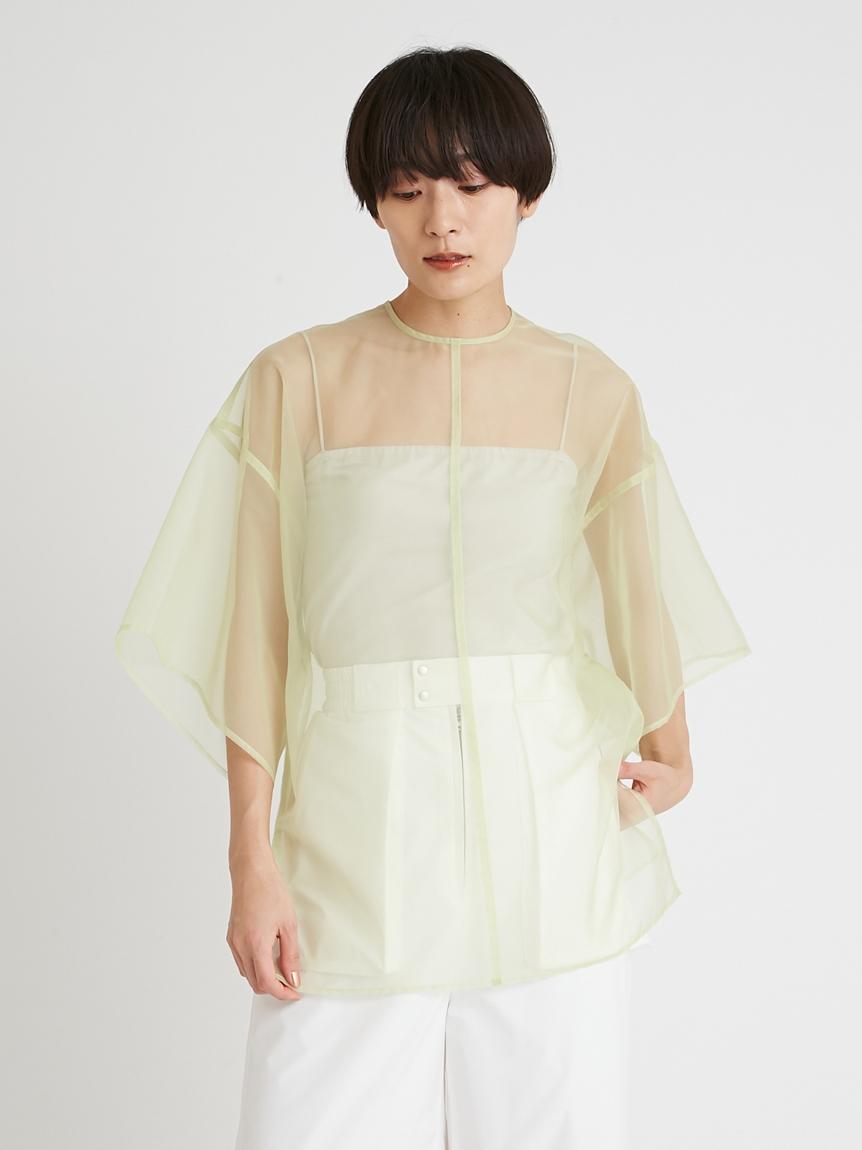 オーガンザアンサンブルTシャツ   16WFT214022