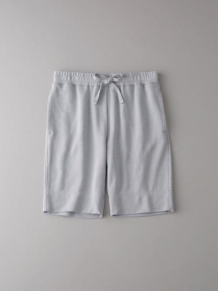 インレイ スウェットショートパンツ【メンズ】(LGRY-0)