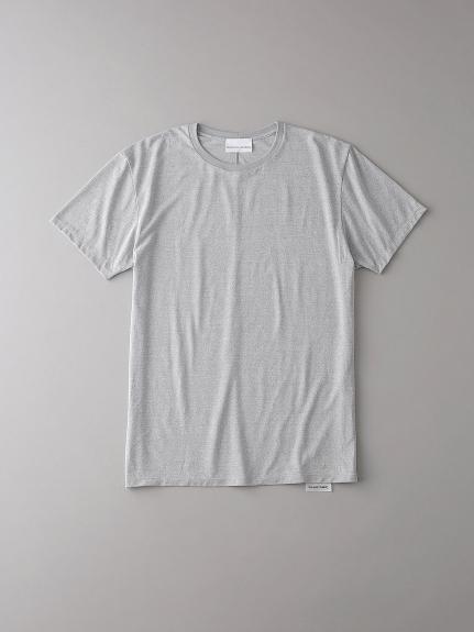 ベーシッククルーネックTシャツ【メンズ】(LGRY-0)