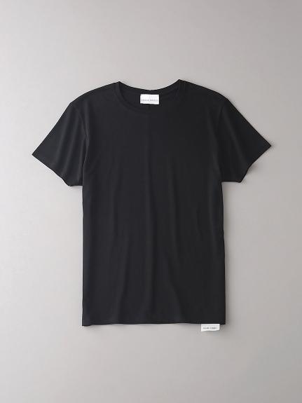 ベーシッククルーネックTシャツ【メンズ】(BLK-0)