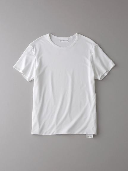 ダブル クルーネックTシャツ【メンズ】(WHT-0)