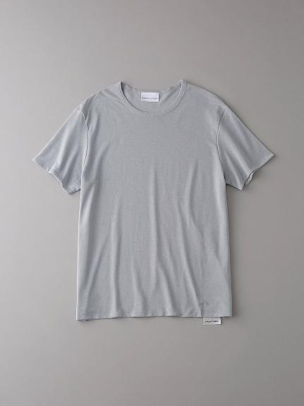 ダブル クルーネックTシャツ【メンズ】(LGRY-0)