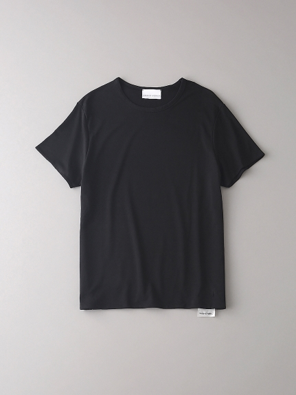 ダブル クルーネックTシャツ【メンズ】(BLK-0)