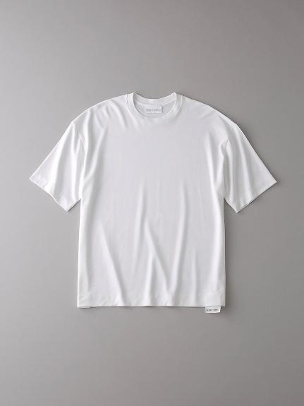 ドロップショルダー クルーネックTシャツ【メンズ】(WHT-0)