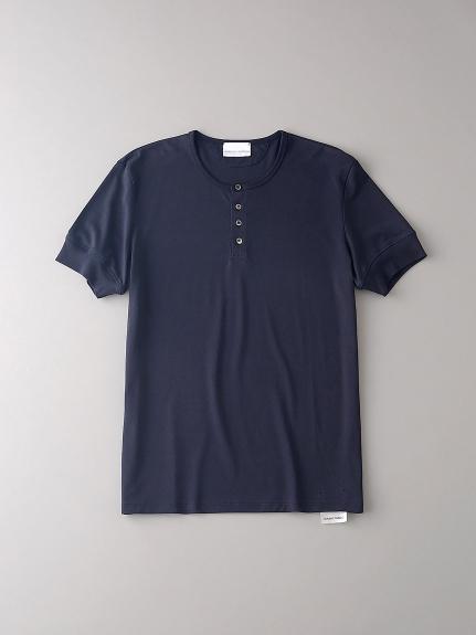 ヘンリーネックTシャツ【メンズ】(DNVY-0)