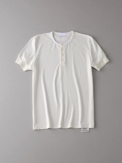 ヘンリーネックTシャツ【メンズ】(NATURAL-0)