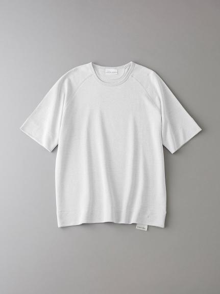 インレイ クルーネックスウェットTシャツ【メンズ】(WHT-0)