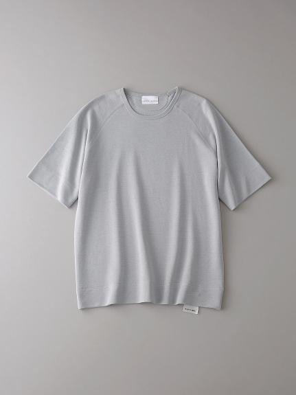 インレイ クルーネックスウェットTシャツ【メンズ】(LGRY-0)