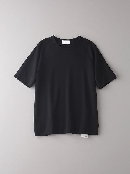 インレイ クルーネックスウェットTシャツ【メンズ】(BLK-0)