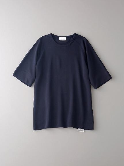 インレイ クルーネックスウェットTシャツ【メンズ】(DNVY-0)