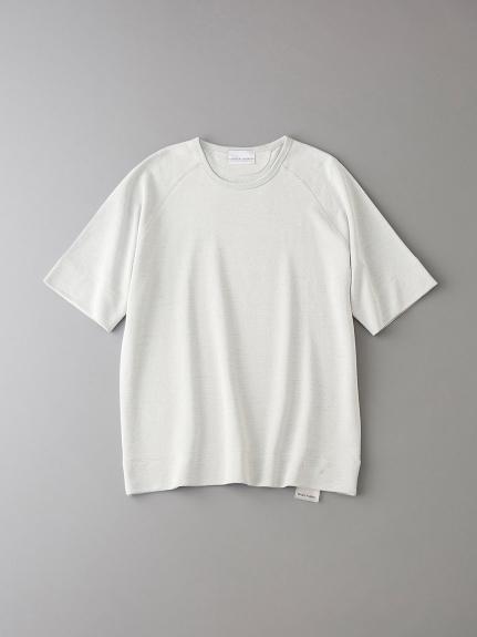 インレイ クルーネックスウェットTシャツ【メンズ】(NATURAL-0)