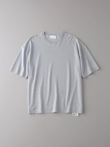 ソフトシーム ドロップショルダーTシャツ【メンズ】(LGRY-0)