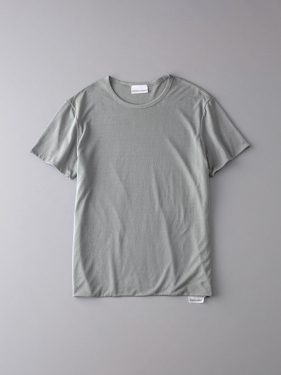 ボタニカル ダブルクルーネックTシャツ【メンズ】(KKI-0)