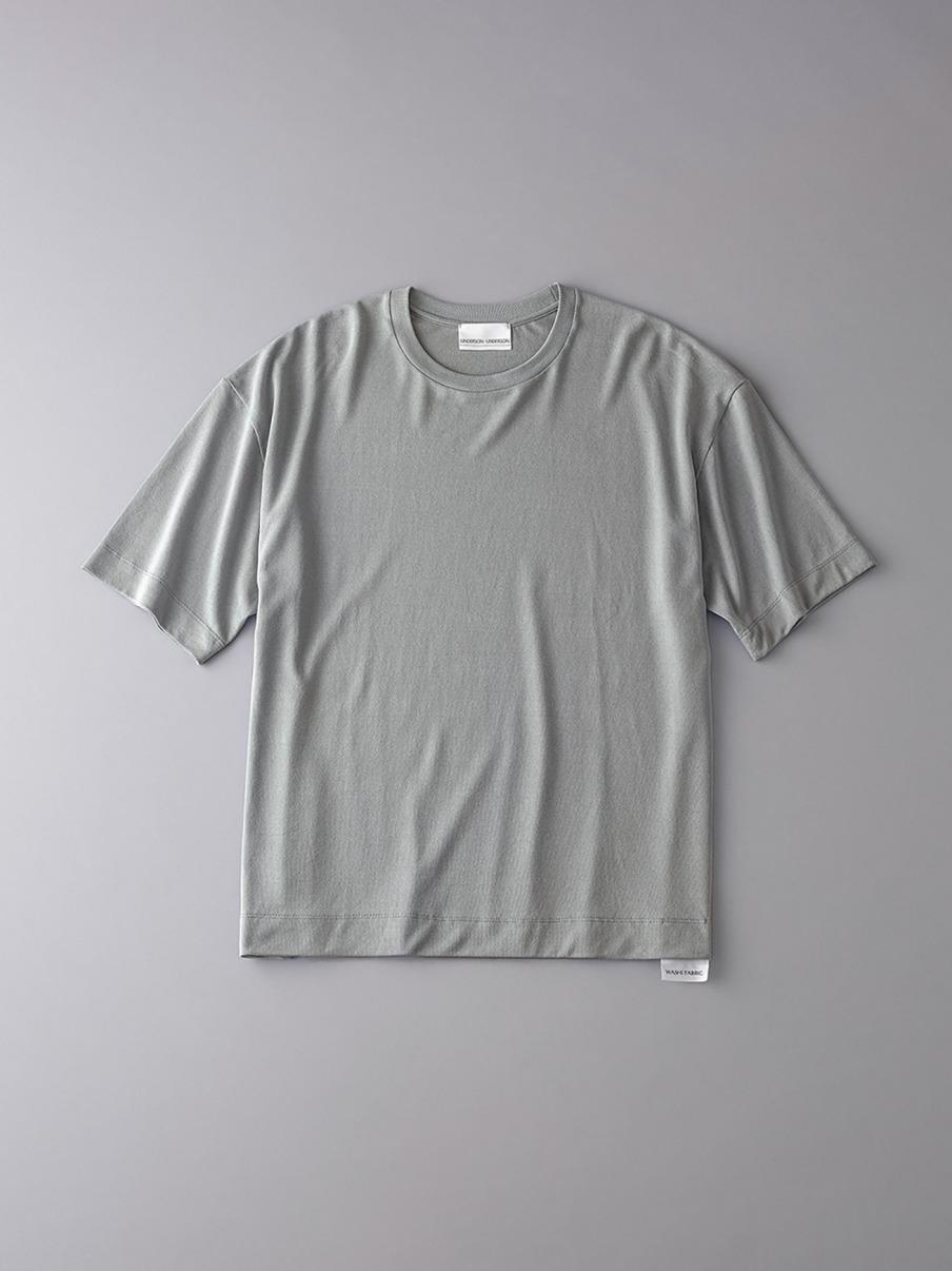 ボタニカル ドロップショルダークルーネックTシャツ【メンズ】(KKI-0)