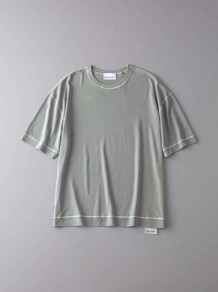 ボタニカル ソフトシーム ドロップショルダーTシャツ【メンズ】(KKI-0)