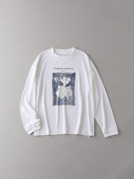 リラックスグラフィックロングスリーブTシャツVol.3【メンズ】(WHT-1)